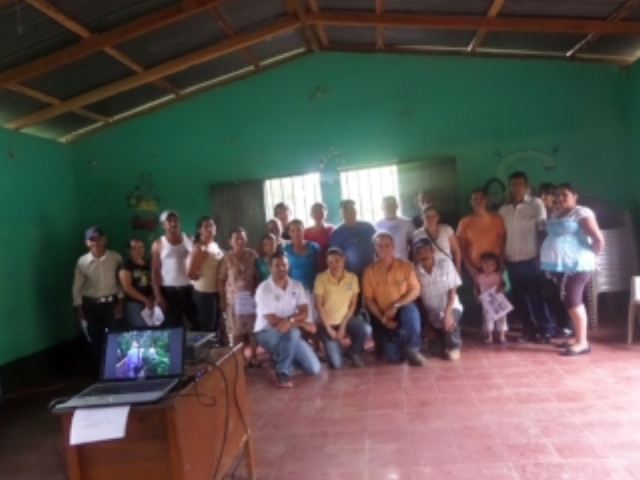 Community workshop with El Llanito, 2014
