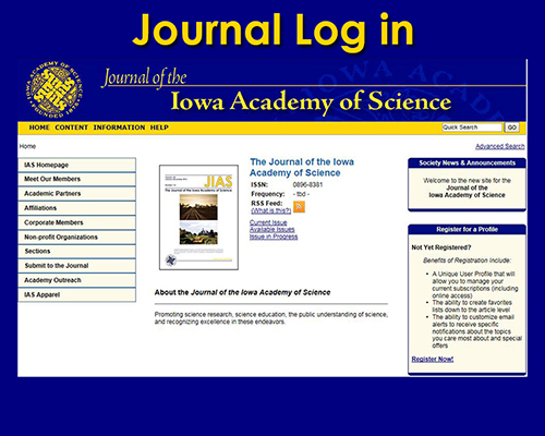 IAS Journal;  Volume 120, 2013 to current issue