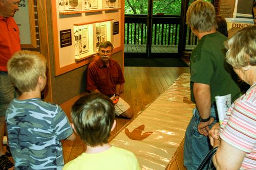 IAS Speaker Series at Saylorville Lake Visitor Center.