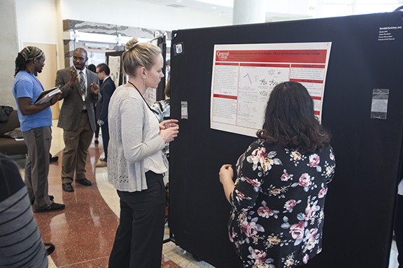 Graduate and undergraduate research presentation at the IAS Annual Meeting.