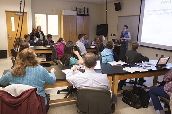 Iowa Junior Academy of Science research presentation.