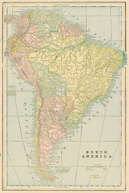 Cram 1889 Antique Map of South America Images Of Old Maps South America on old maps of the netherlands, old map of pacific northwest, old map of british isles, old map of venezuela, old map of ancient rome, old timey of central america, old map of namibia, old map of india, old maps of north america, old map of hong kong, old map of bhutan, old map of arabian peninsula, old map north africa, old south plantation map, old map of belarus, old map of iraq, old map of bulgaria, old map of greenland, old map of iberian peninsula, old usa map,