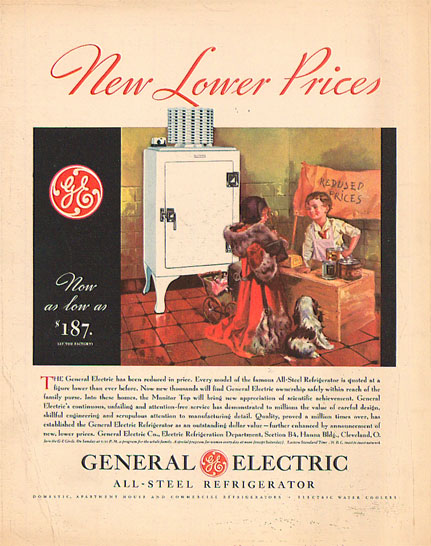 1930s Appliance Device Ads