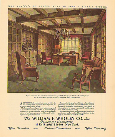1930s Home Improvement Decor Luxury Items Ads