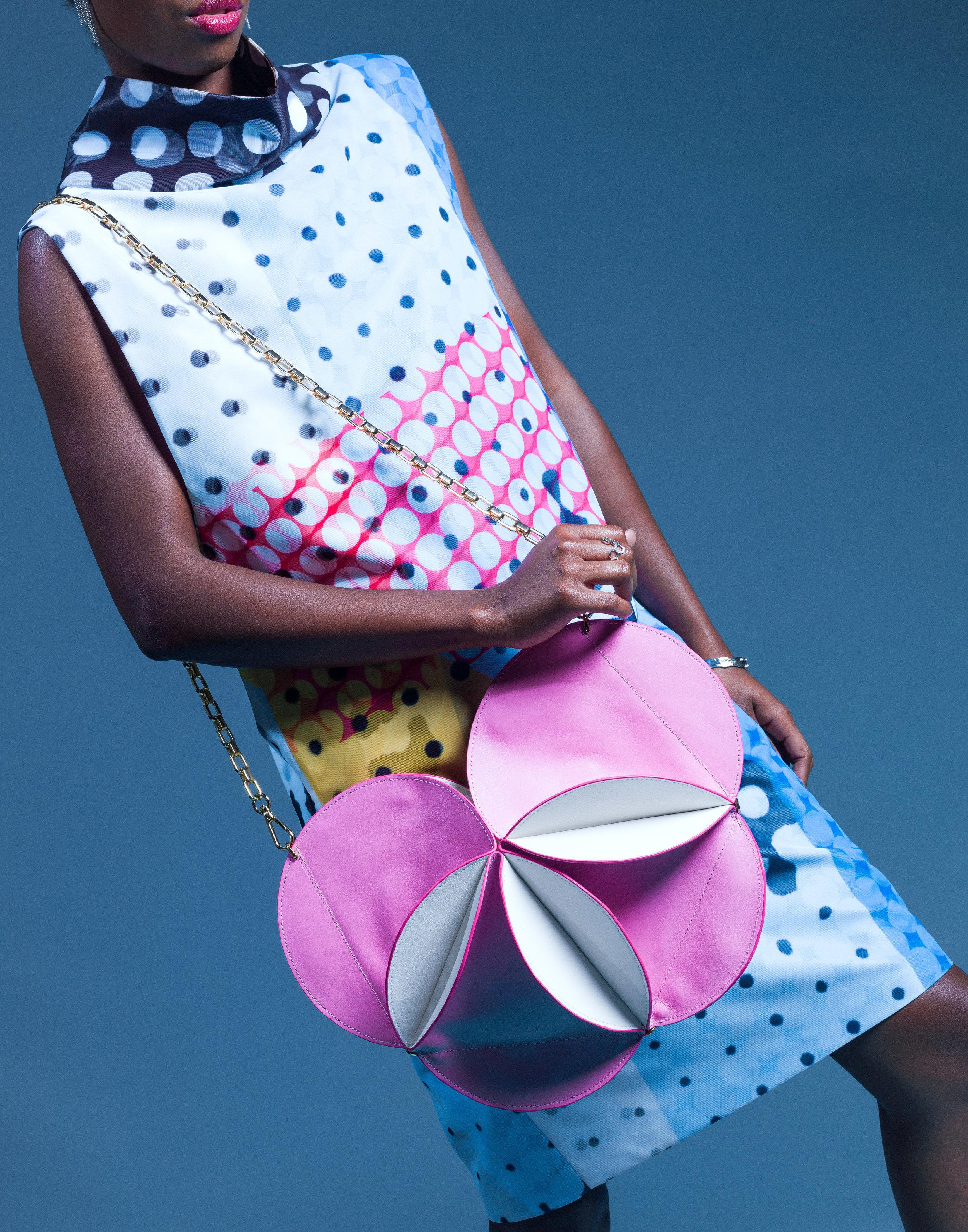 Flower Bag In Pink Ellia Wang