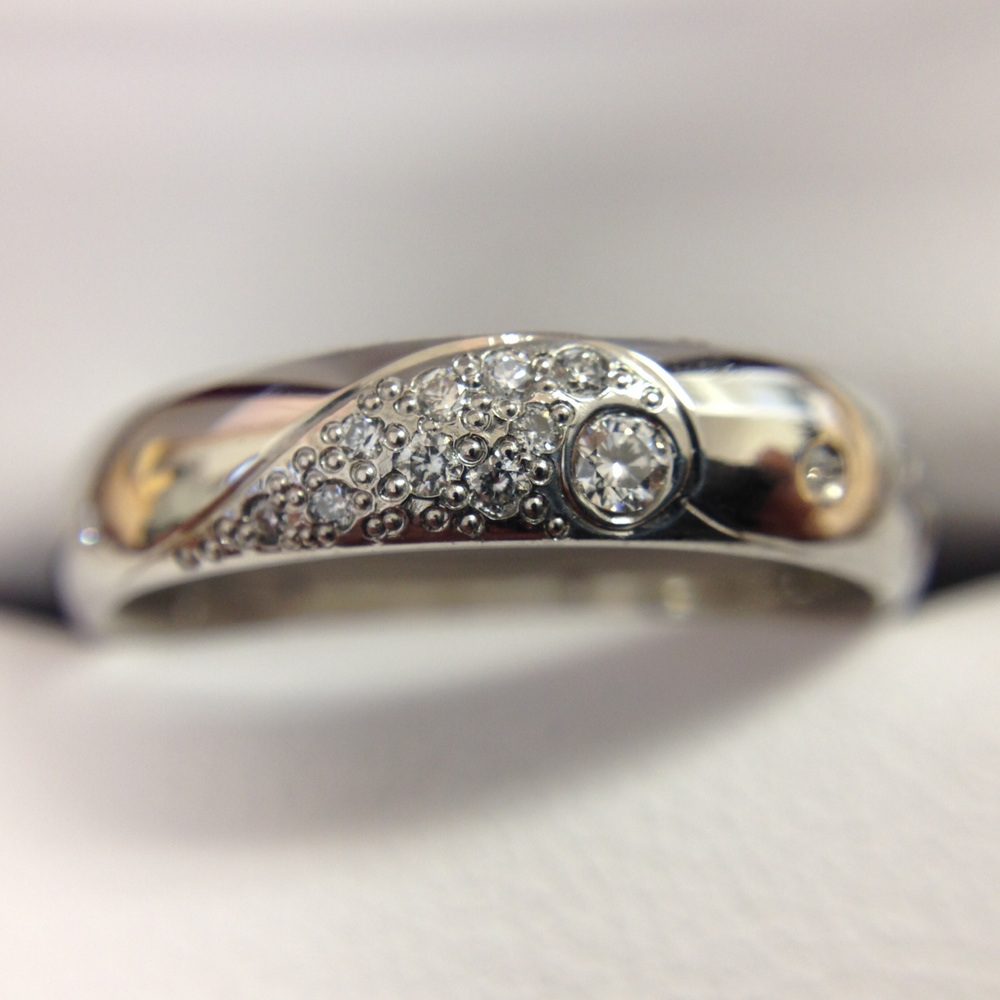 Scott created this ring himself! LEARN MORE ABOUT OUR BUILD YOUR OWN OPTION.
