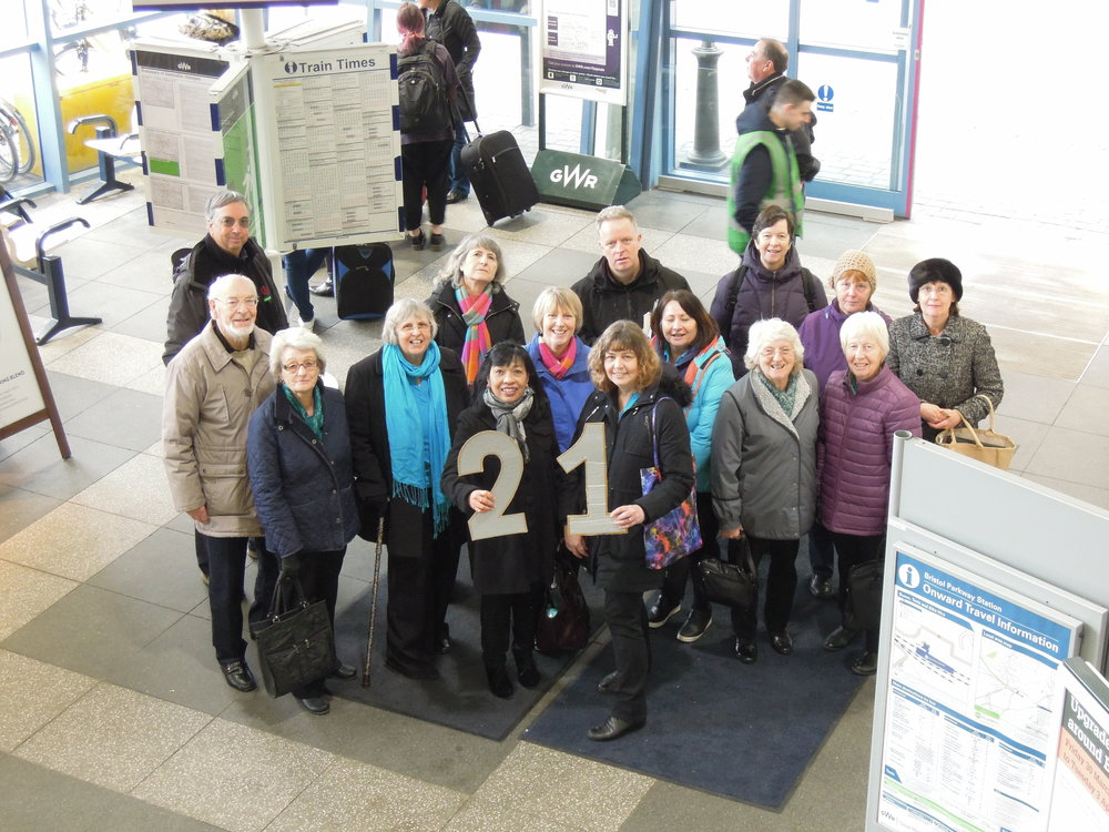 Event 21: One last song at Bristol Parkway Station