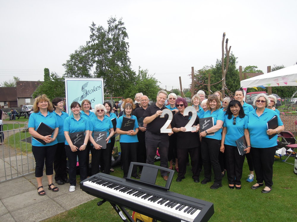 Event 22: A sunny May Bank Holiday sing at Stoke Gifford Fete