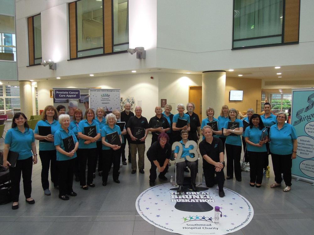 Event 23: The June Buskathon at Southmead Hospital