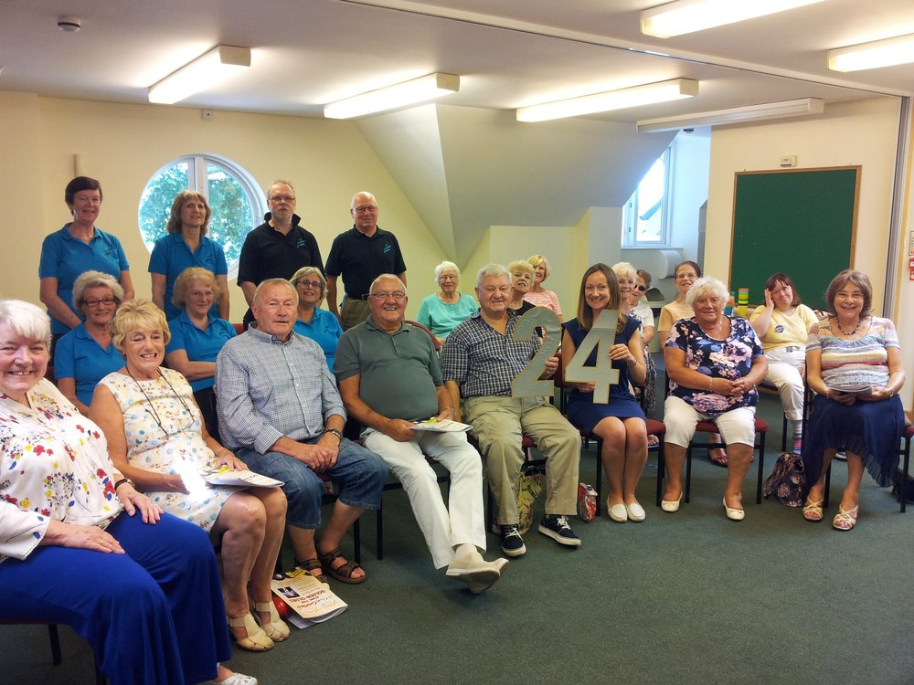 Event 24: Fabulous songs and a warm welcome from Adele and the Goldies at St Michael's Church Centre, Stoke Gifford