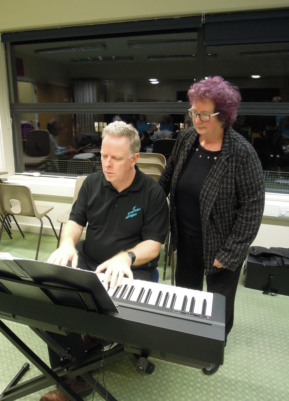 Phil and Sian, our Musical Directors