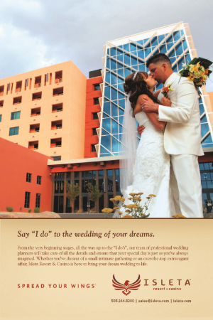 Albuquerque wedding ceremony / reception venue, also for rehearsal dinners.