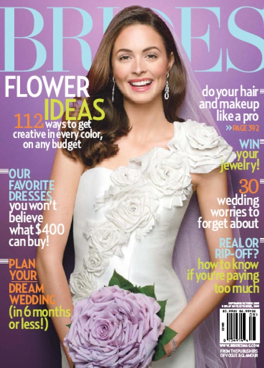 Every registered bride will receive a subscription to brides magazine after the show