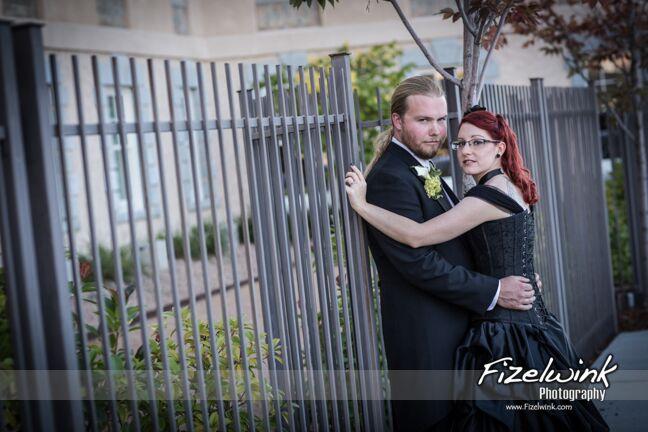Kelly and Soren's Albuquerque wedding, as seen through the lens of Fizelwink Photography.