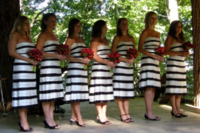 What about stripes for your wedding?