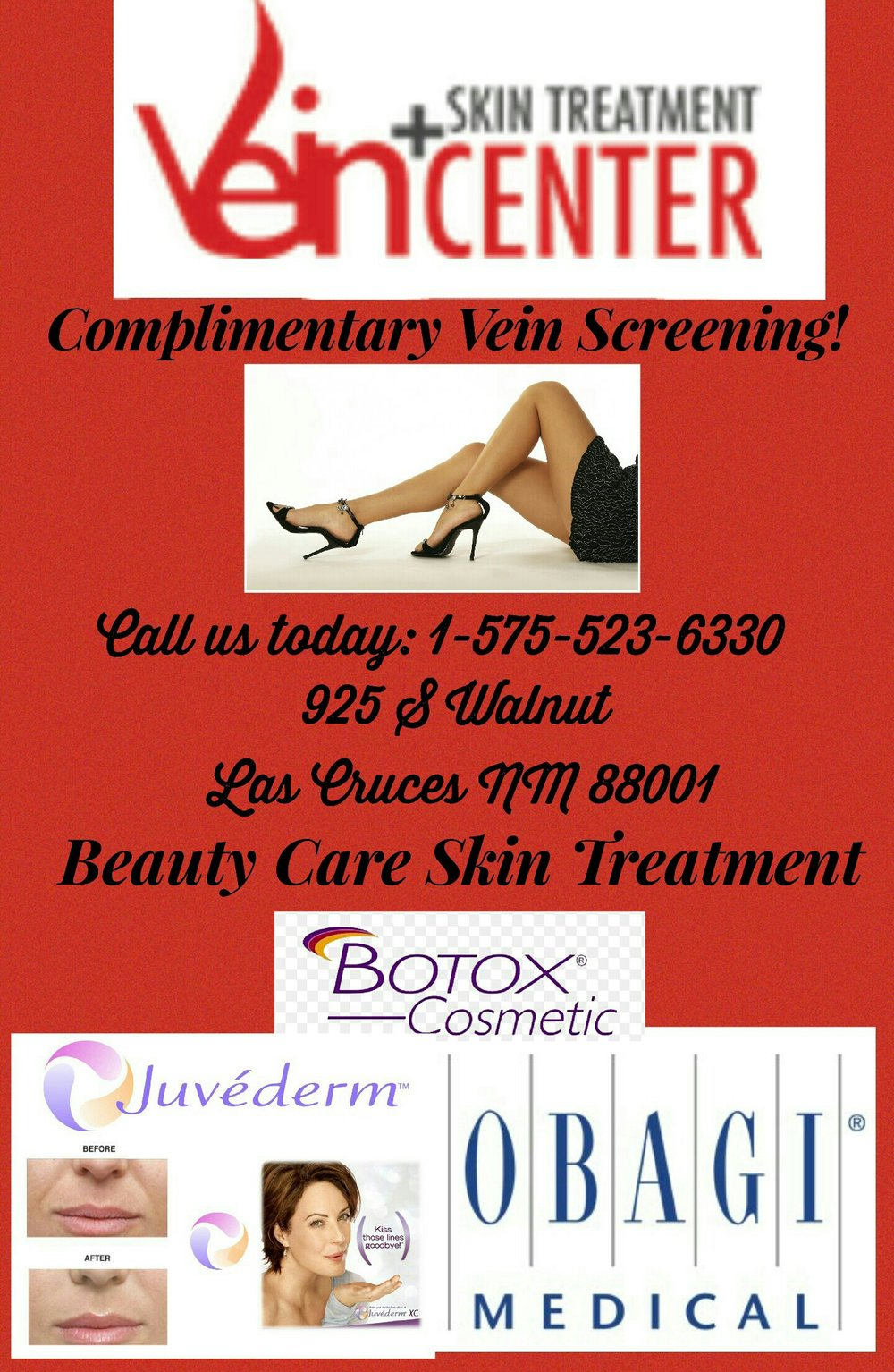 Vein + Skin treatment center in las cruces