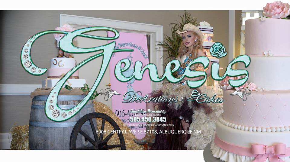 Genesis for cakes and event decor