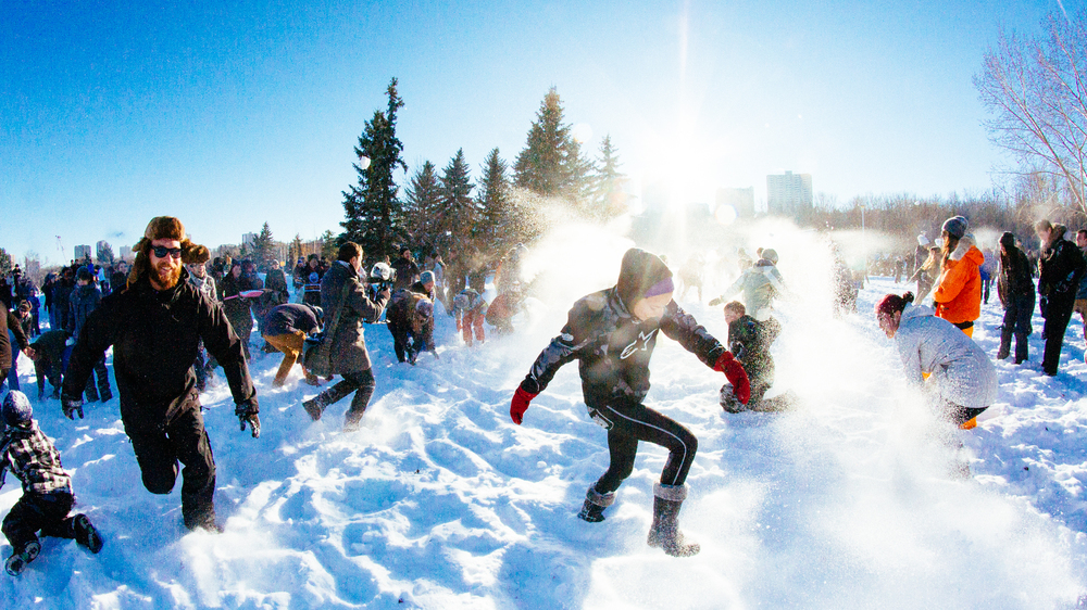 YEGsnowfight
