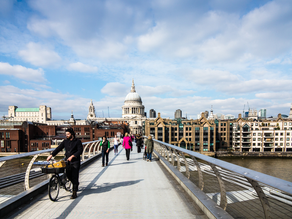 Millenium Bridge to St Paul's