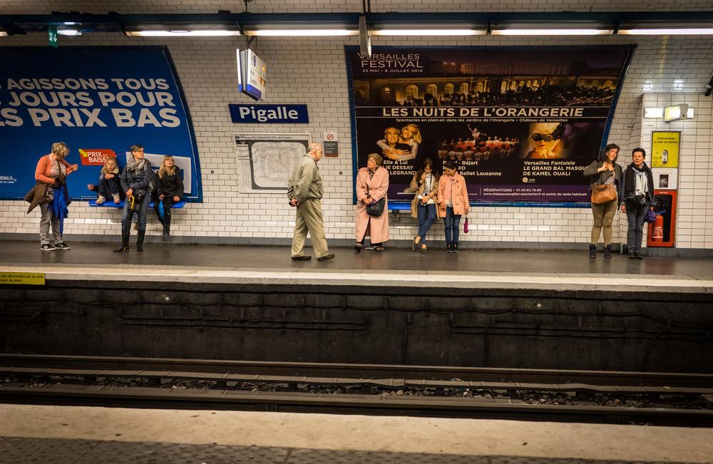 Pigalle Metro
