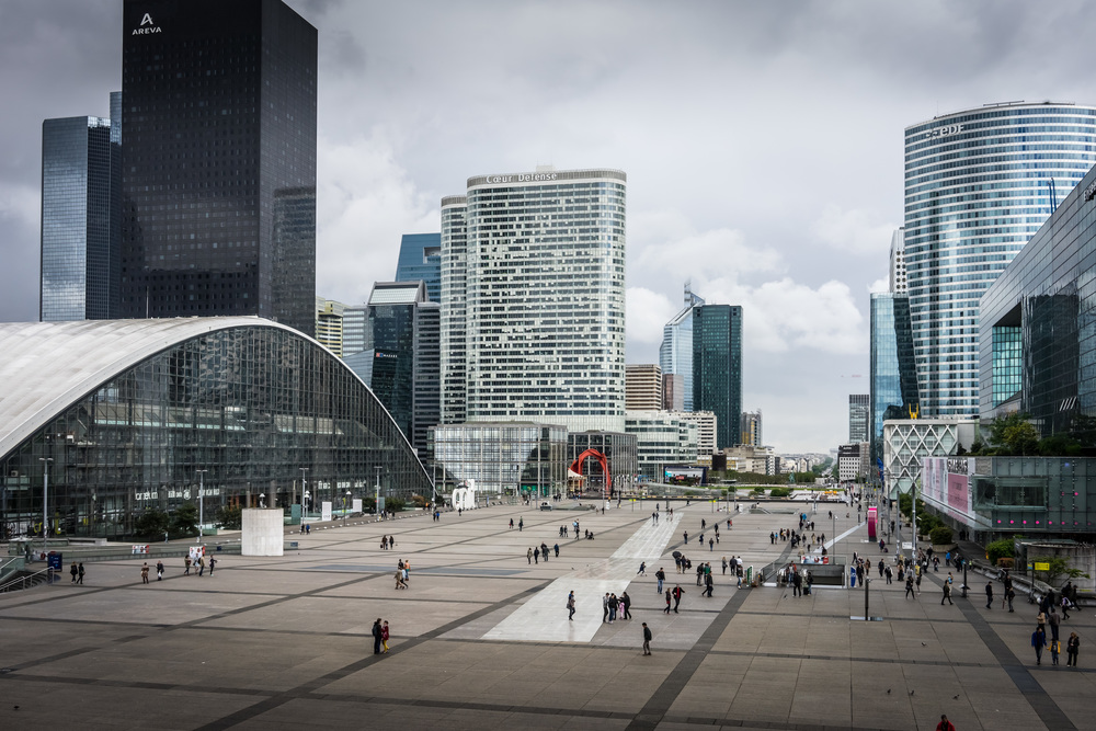 View from Le Grande Arche, La Defense