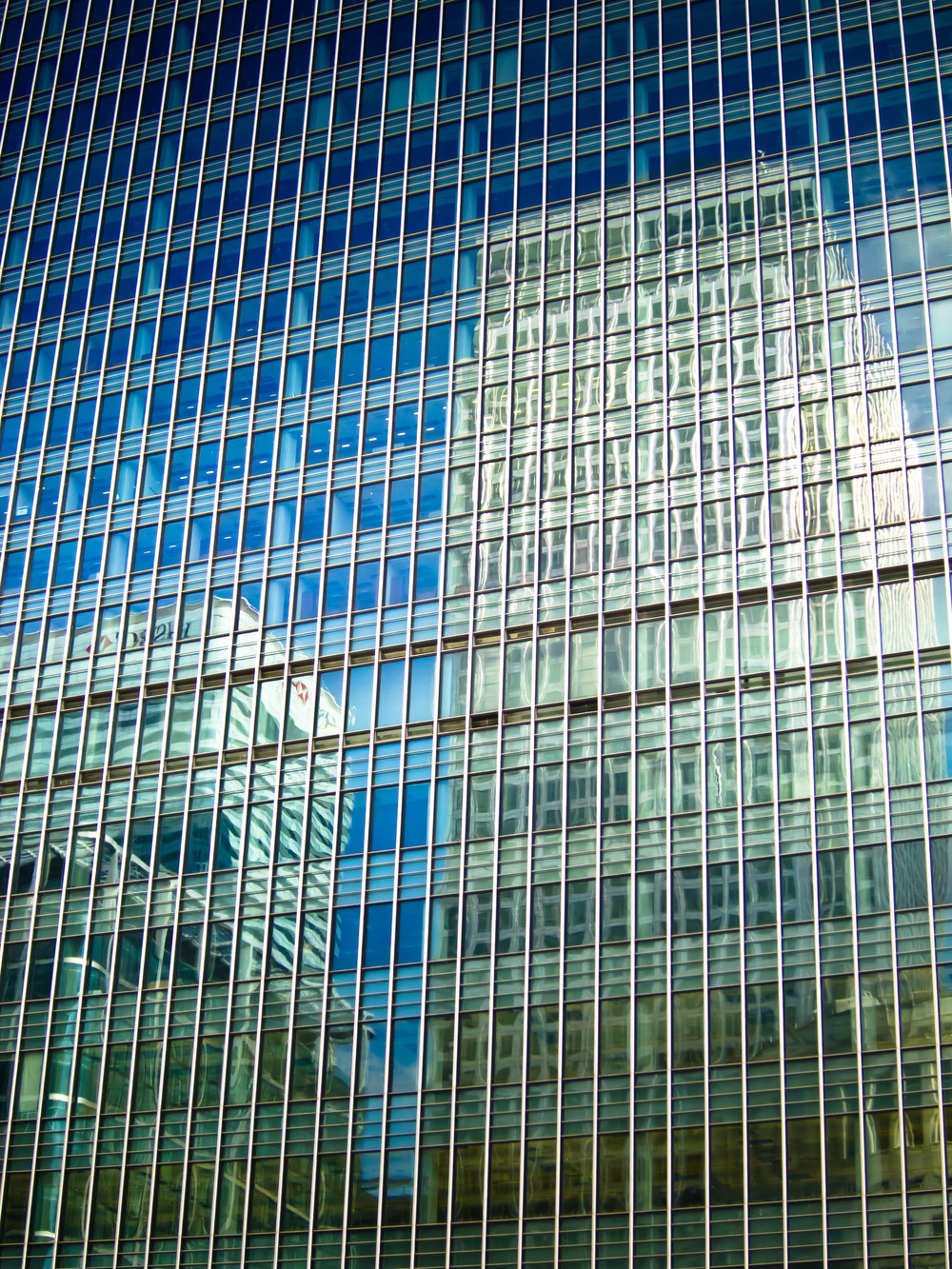 Canary Wharf Reflection