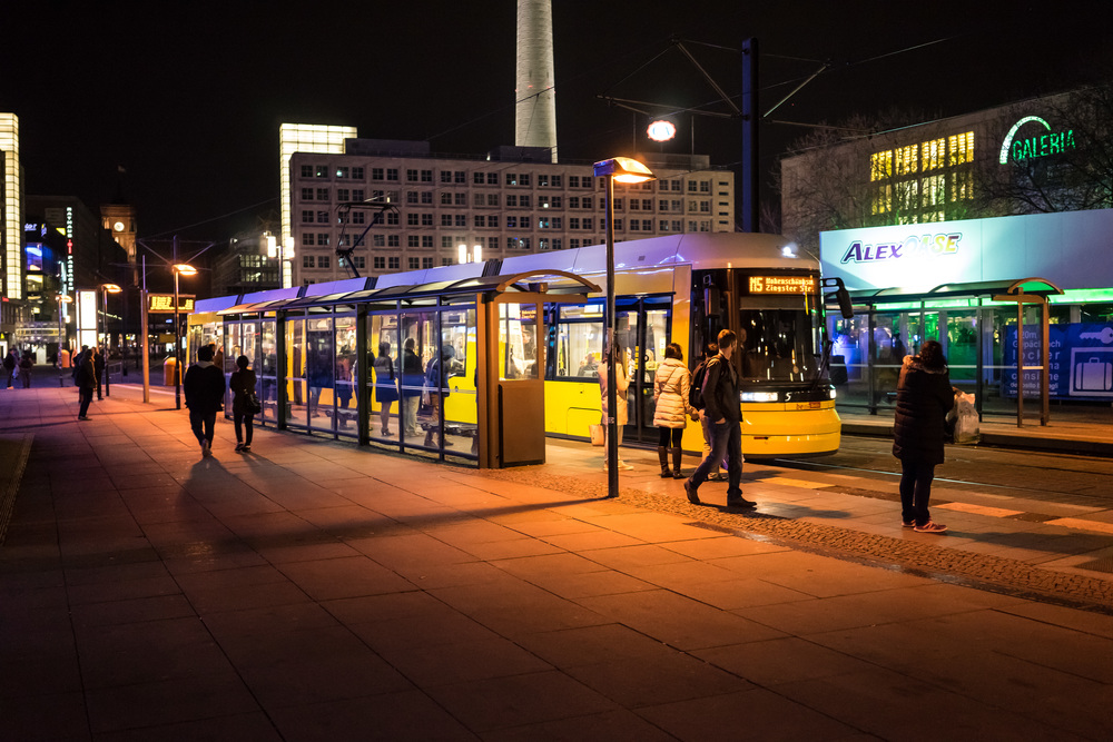 Alexanderplatz where Amy and Ethan arrange to meet on arrival in Berlin
