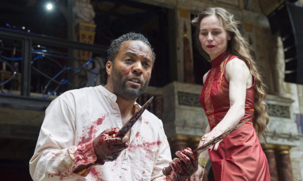 Macbeth and Lady Macbeth at the Globe