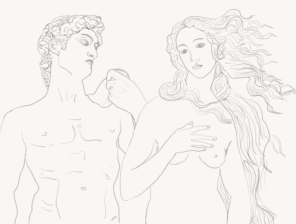 David and Venus