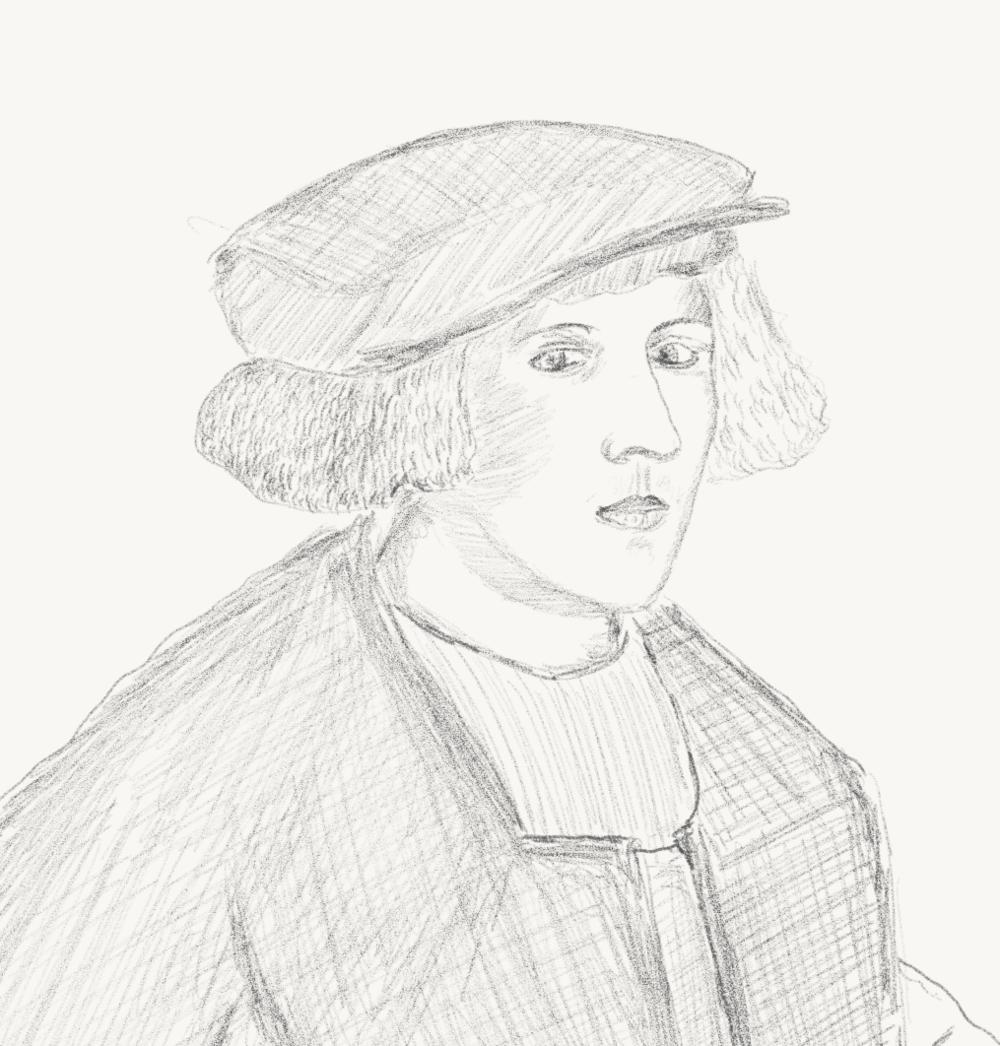 Hans Holbein Detail