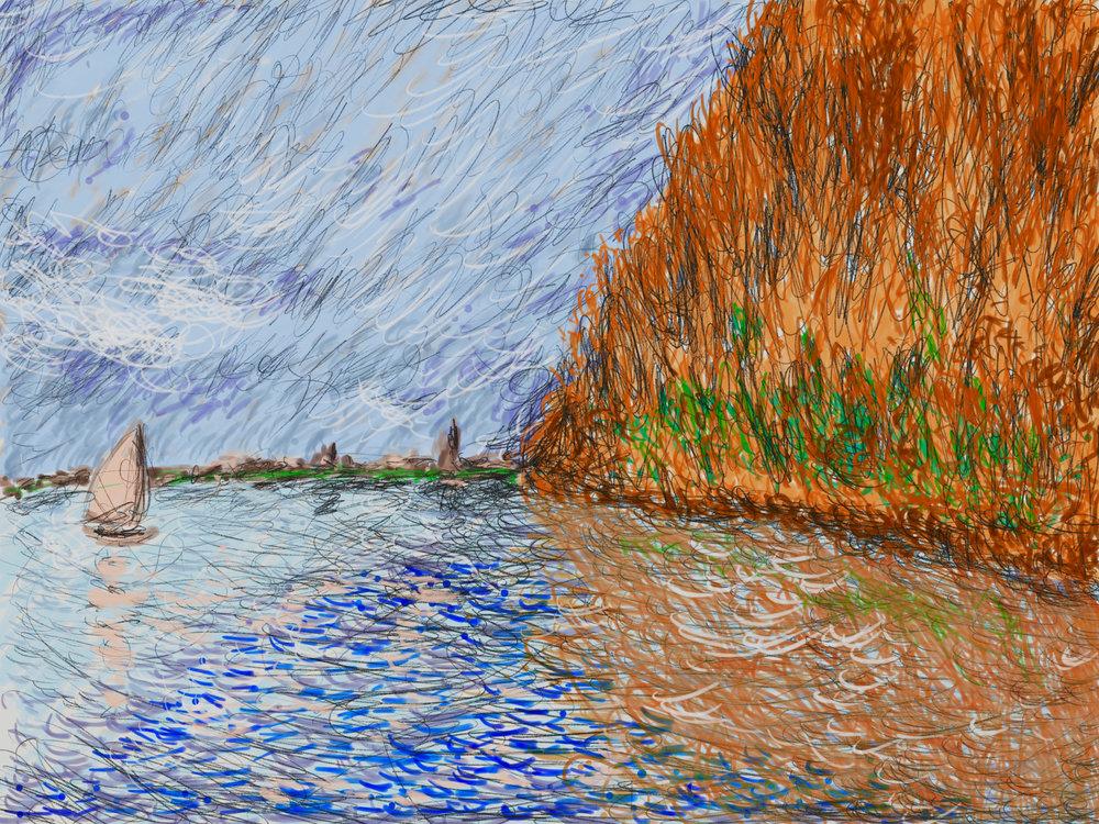 Monet's water