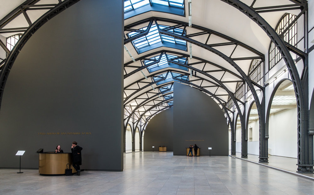 Hamburger Bahnhof Museum interior