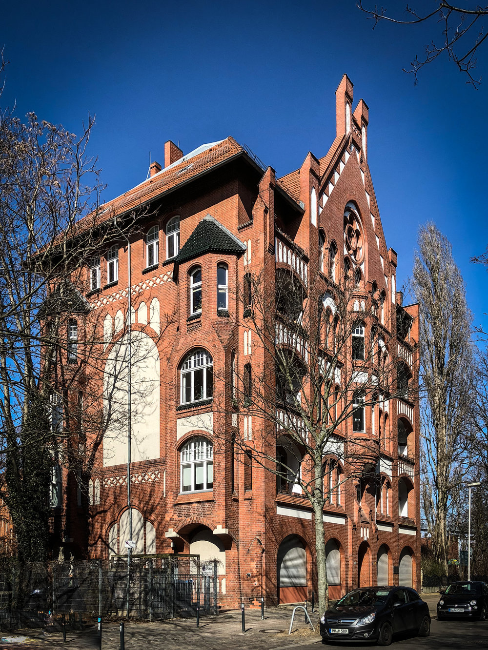 Apartment building in Friedrichshain