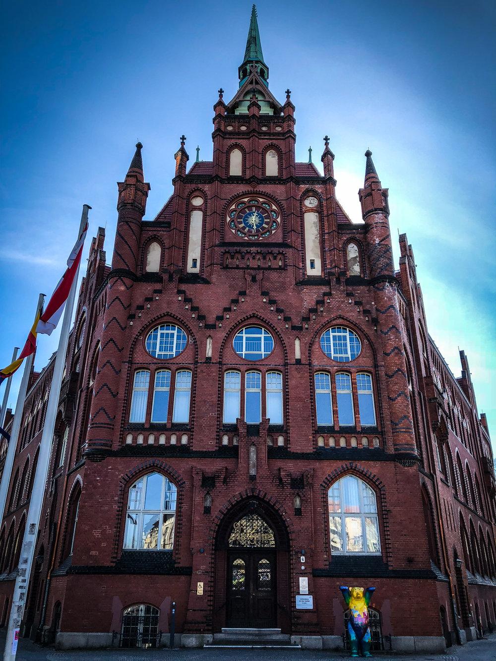 Rathaus, Lichtenberg administrative building built in 1890