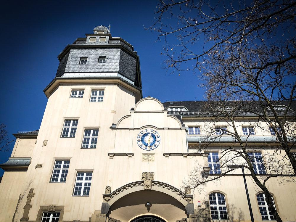 Detail from Schule am Rathaus in Lichtenberg