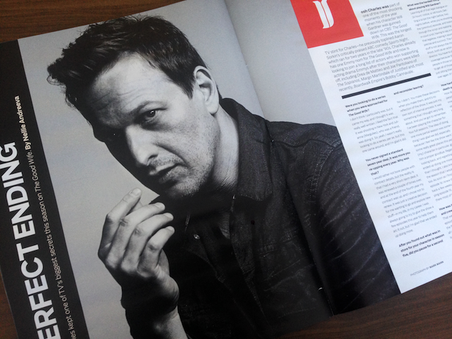 Josh Charles (The Good Wife) photographed by Mark Mann
