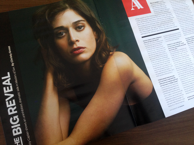 Lizzy Caplan (Masters of Sex) photographed by J.R. Mankoff