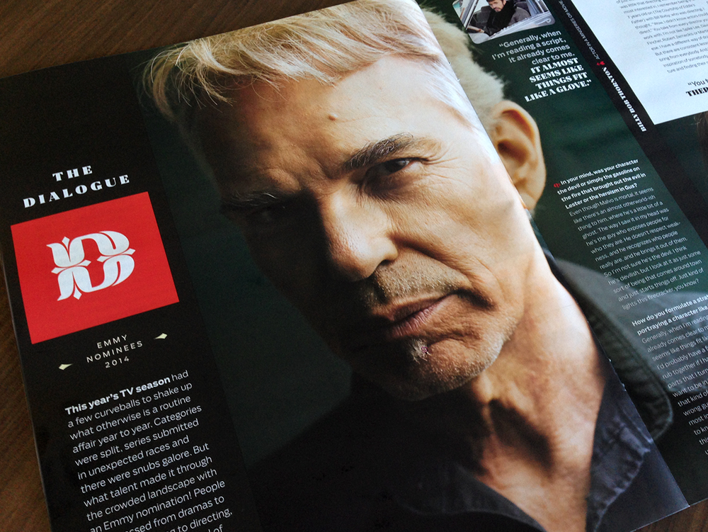 Billy Bob Thornton (Fargo) photographed by J.R. Mankoff