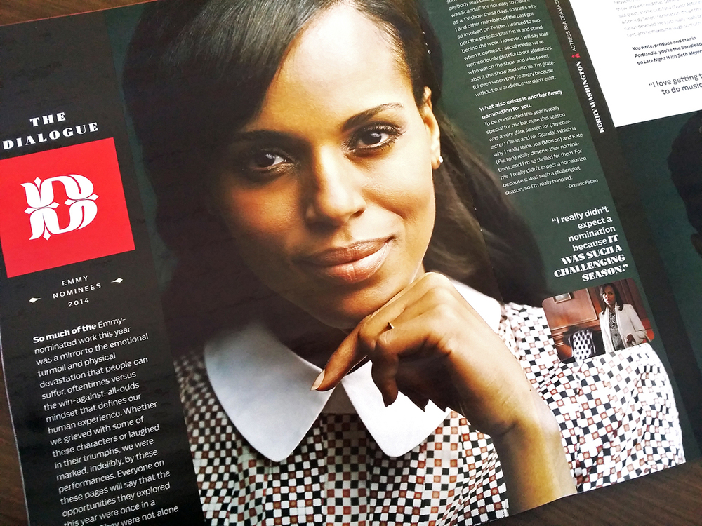 Kerry Washington (Scandal), photographed by J.R. Mankoff