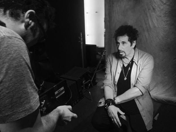 Al Pacino and Mark Mann
