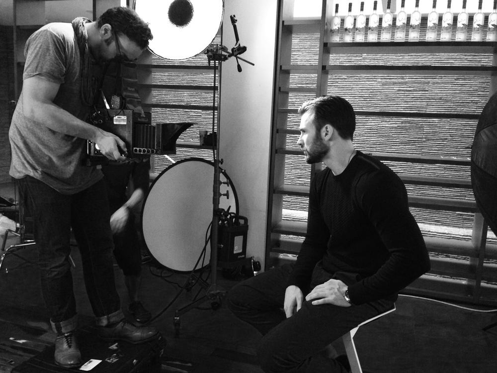 Chris Evans and Mark Mann