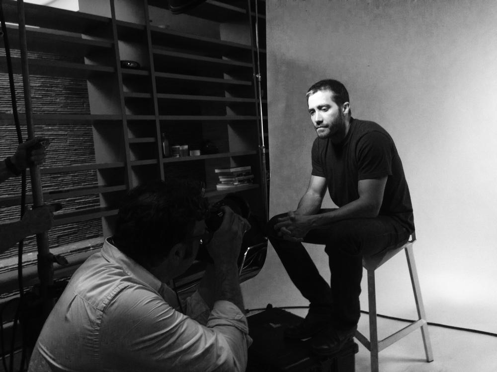 Jake Gyllenhaal (Nightcrawler) with Mark Mann