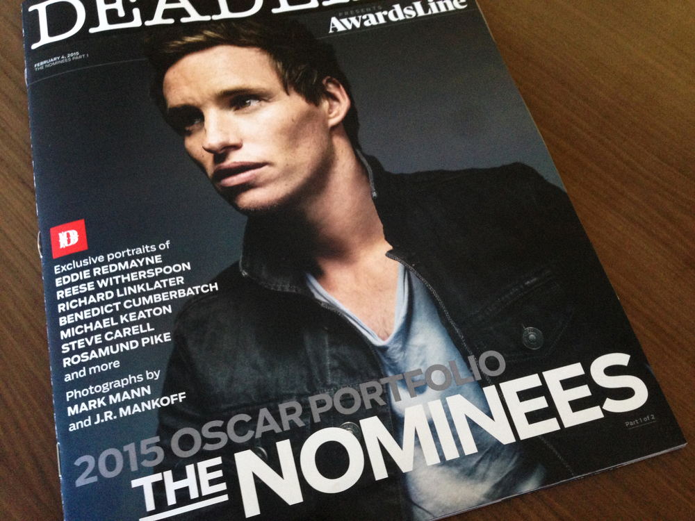 Eddie Redmayne photographed by Mark Mann