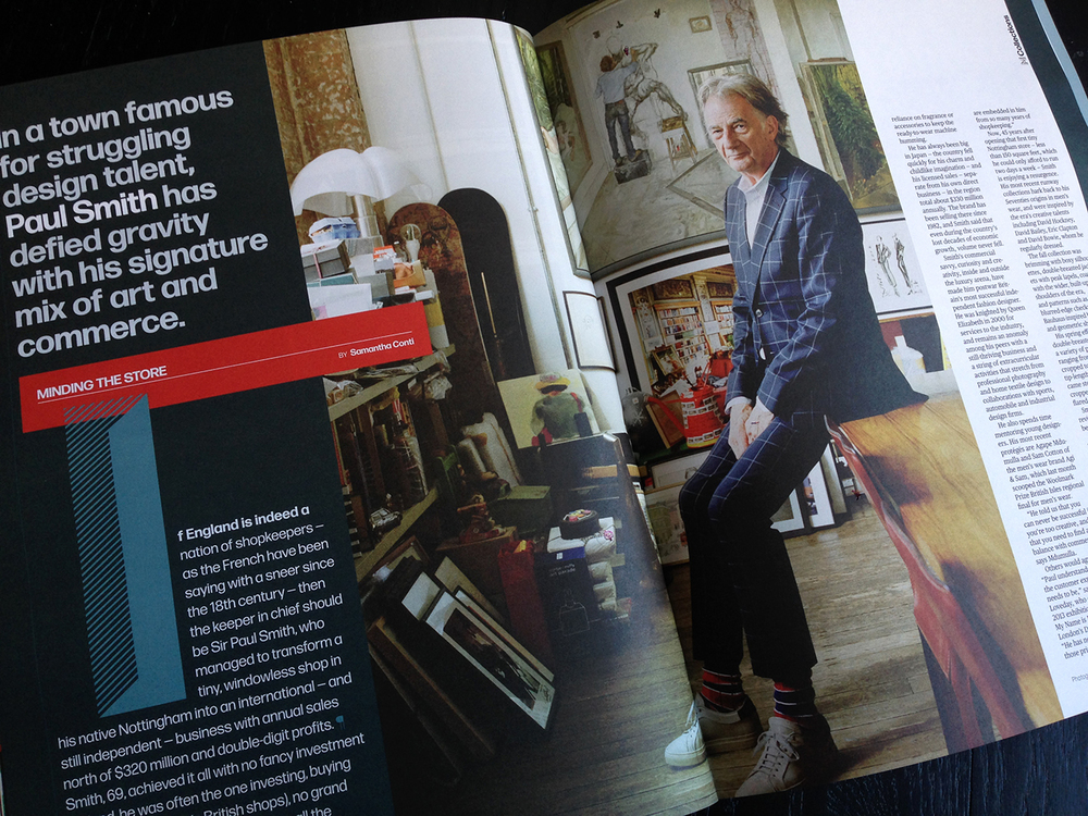 Sir Paul Smith, photograph by Kate Peters