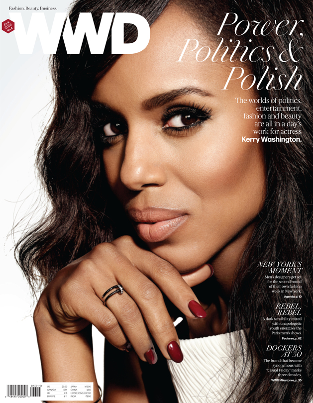 Kerry Washington photographed by Art Streiber