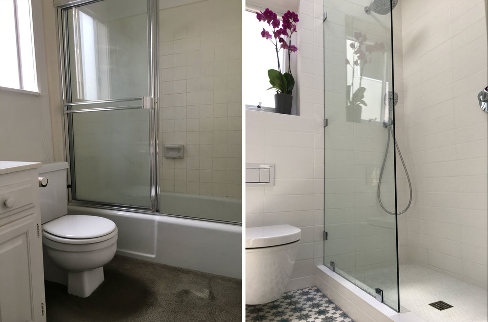 Before and After: Bathroom