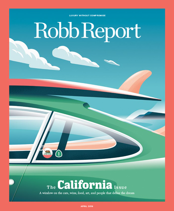 The California Issue, illustrated by Pietari Posti