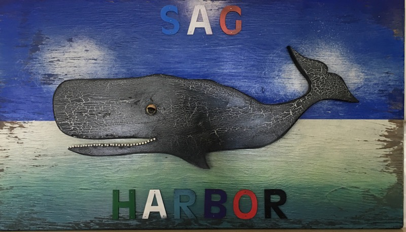 """Sag Harbor Whale"" by Dan Rizzie."