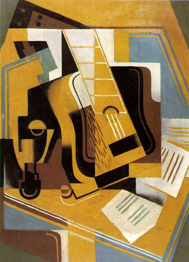 Guitarra  by Juan Gris (via  Wikimedia Commons )