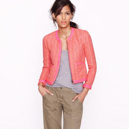 J.Crew Plaid Boucle tweed jacket: Buy here!
